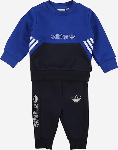 ADIDAS ORIGINALS Jogginganzug in nachtblau / royalblau / weiß, Produktansicht