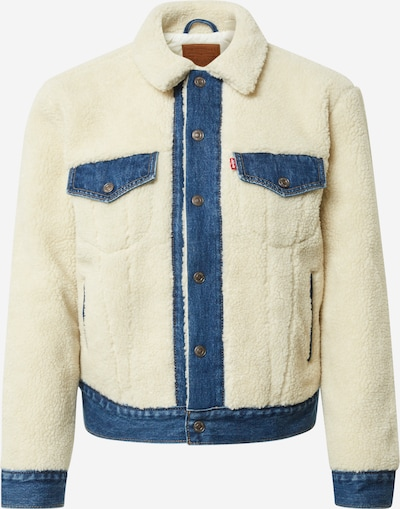 LEVI'S Jacke in creme / blue denim, Produktansicht