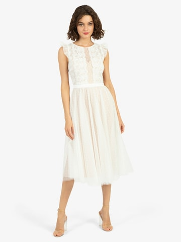 APART Cocktail Dress in White
