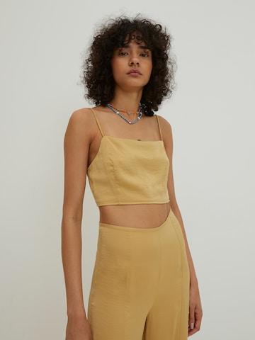 EDITED Blouse 'Kaylin' in Yellow