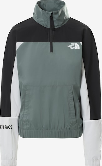 THE NORTH FACE Outdoor Jacket in Green / Black / White, Item view