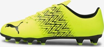 PUMA Sportschoen 'Tacto FG/AG' in de kleur Neongeel / Zwart, Productweergave