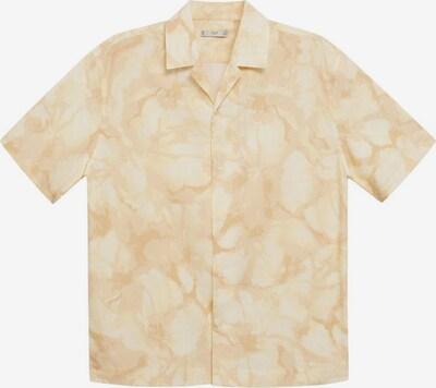 MANGO MAN Hemd antibes in beige / weiß, Produktansicht