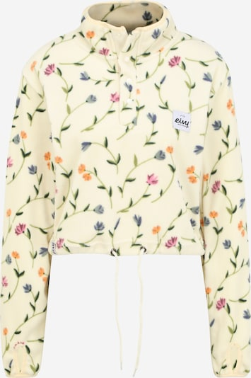 Eivy Sweatshirt in creme / taubenblau / orange / pink / pitaya, Produktansicht