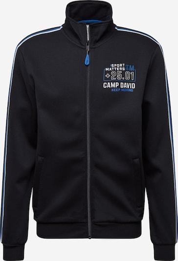 CAMP DAVID Sportiska jaka karaliski zils / melns / balts, Preces skats
