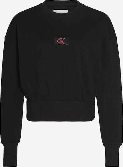 Calvin Klein Sweatshirt in de kleur Lichtrood / Zwart, Productweergave