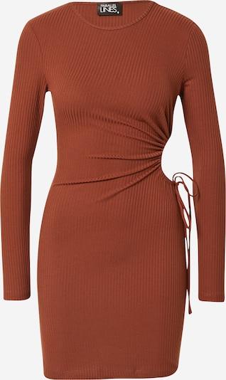 Parallel Lines Φόρεμα σε καφέ σκουριάς, Άποψη προϊόντος