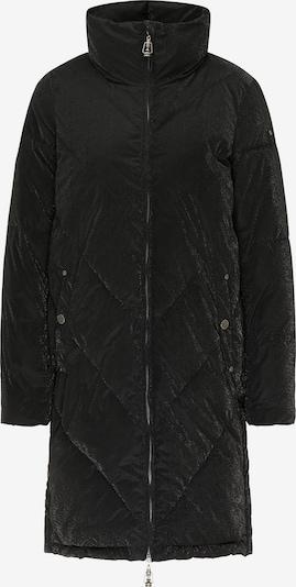DreiMaster Vintage Manteau d'hiver en noir, Vue avec produit