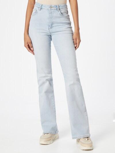 NA-KD Jeans 'Nina' in blue denim, Modelansicht