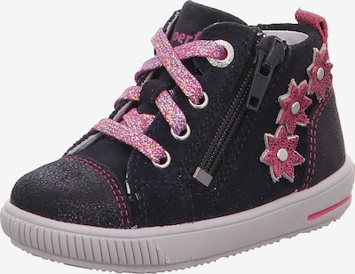 SUPERFIT Sneaker 'Moppy' in dunkelblau / rosa, Produktansicht