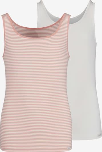 Skiny Unterhemd in rosé / naturweiß, Produktansicht