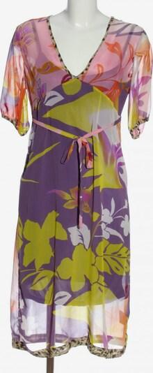 St-Martins Blusenkleid in M in pastellgelb / lila / pink, Produktansicht