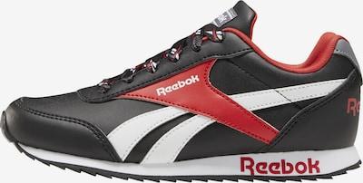 Reebok Classic Sneaker in rot / schwarz / weiß, Produktansicht