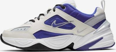 NIKE Sneaker ' M2K Tekno ' in blau / schwarz / weiß: Frontalansicht