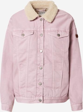 ROXY Between-Season Jacket 'GREAT TIME' in Purple