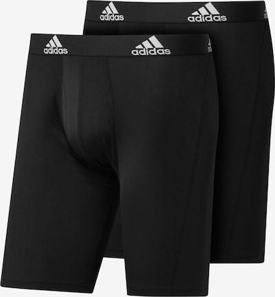 ADIDAS PERFORMANCE Sportunterhose in schwarz / weiß, Produktansicht