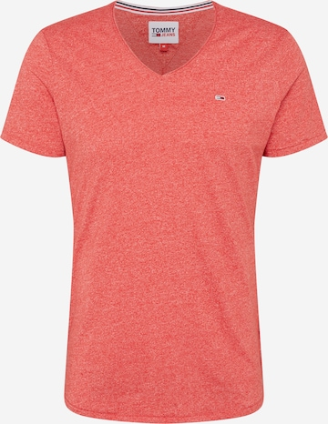 Tommy Jeans Shirt 'JASPE' in Rot