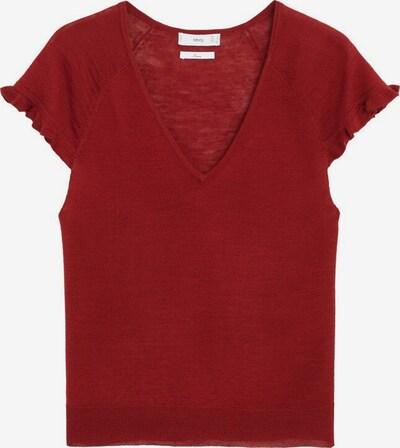 MANGO Shirt in rot, Produktansicht