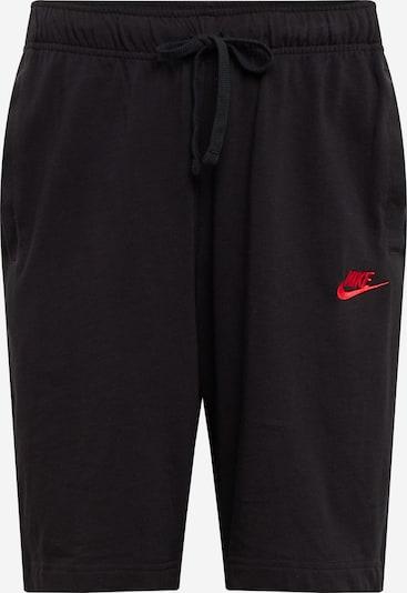 Nike Sportswear Hlače u lubenica roza / crna, Pregled proizvoda