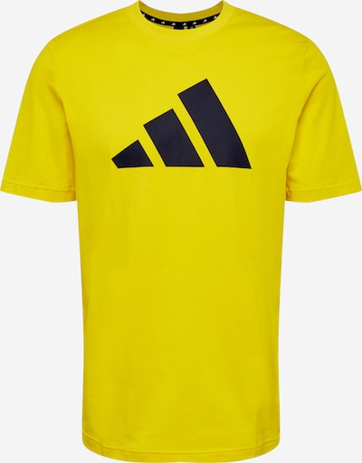 ADIDAS PERFORMANCE Functional shirt in Yellow / Black, Item view