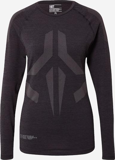 HIIT Tehnička sportska majica u siva / crna, Pregled proizvoda