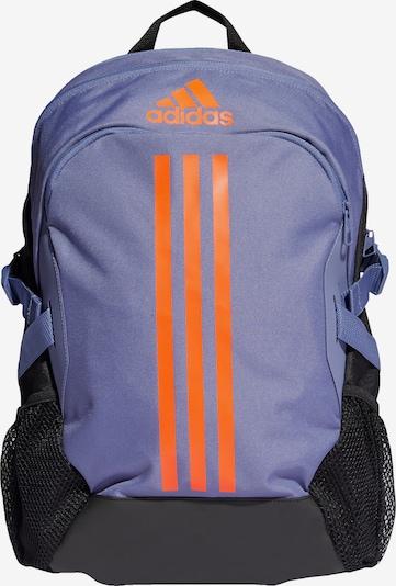 ADIDAS PERFORMANCE Sportrugzak 'Power 5' in de kleur Lila / Donkeroranje / Zwart, Productweergave