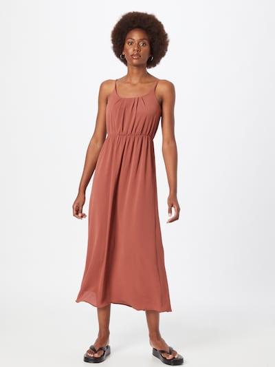 VERO MODA Kleid 'Sasha' in dunkelrot, Modelansicht