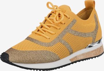LA STRADA Sneakers in Yellow