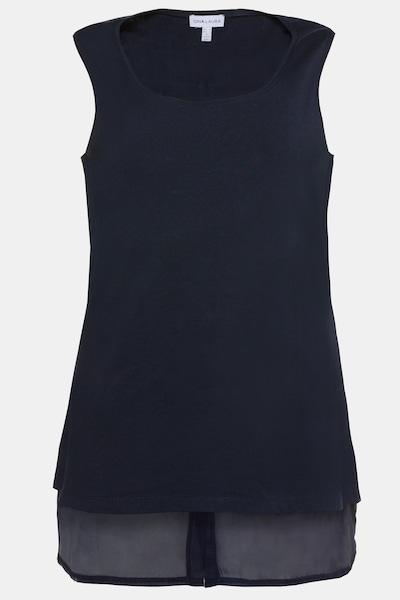 Gina Laura Top in nachtblau, Produktansicht