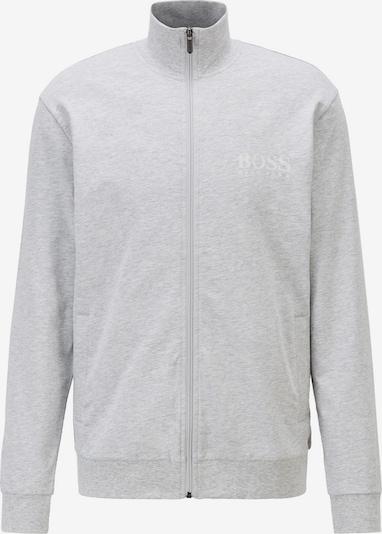 BOSS Casual Sweatjacke in weiß, Produktansicht