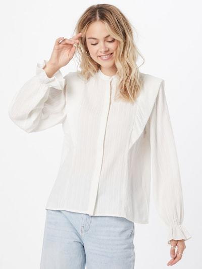 Y.A.S Bluse in naturweiß, Modelansicht