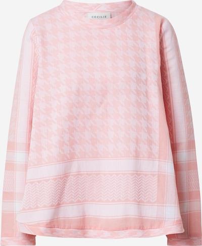 Cecilie Copenhagen Blúzka - ružová / biela, Produkt