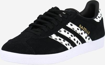 ADIDAS ORIGINALS Sneakers laag 'Gazelle' in de kleur Zwart / Wit, Productweergave