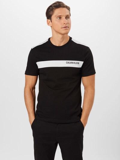 Marškinėliai iš Calvin Klein , spalva - juoda / balta: Vaizdas iš priekio