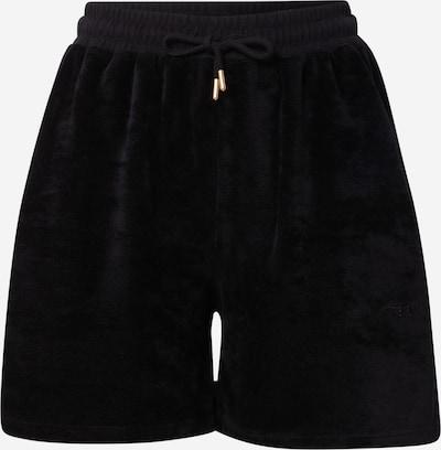 Pantaloni WEARKND pe negru, Vizualizare produs