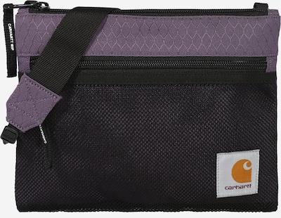 Carhartt WIP Sac à bandoulière en violet clair / noir, Vue avec produit