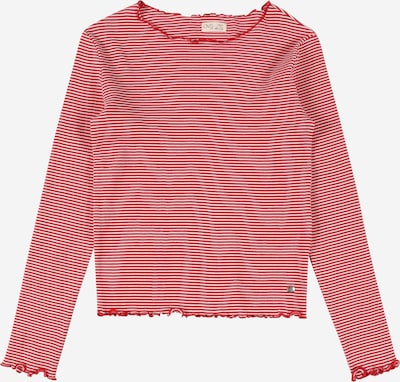 OVS Shirt in rot / weiß, Produktansicht