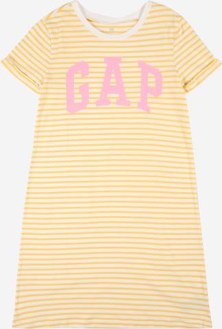 GAP Kleid in Gelb