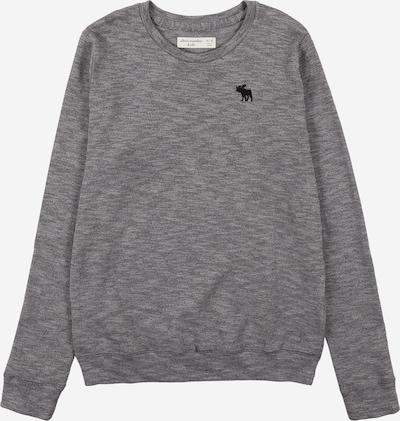 Abercrombie & Fitch Pullover in hellgrau / graumeliert / schwarz, Produktansicht
