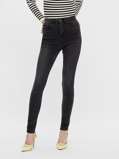 PIECES Jeans in Grey denim, View model