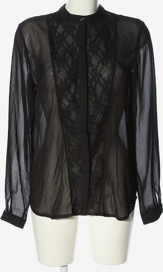 ELEMENT Transparenz-Bluse in L in schwarz, Produktansicht