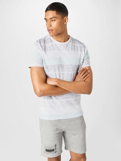 BRAVE SOUL Paita 'RANGEX' värissä meleerattu beige / meleerattu sininen / meleerattu violetti / valkoinen: Näkymä edestä