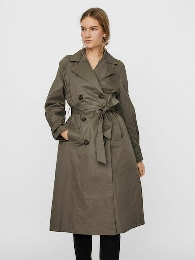 VERO MODA Between-seasons coat in grey, View model