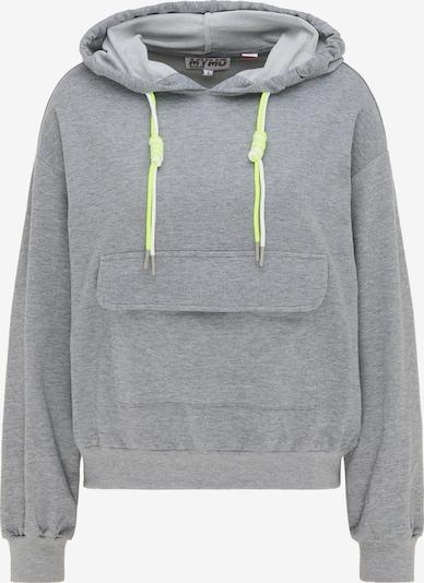 myMo ATHLSR Sportsweatshirt in grau, Produktansicht