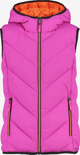 CMP Vest in Dark pink / Black, Item view