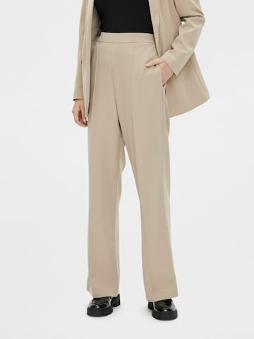 PIECES Pants 'Bossy' in Brown