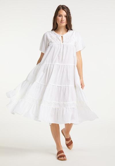 IZIA Kleid in weiß, Modelansicht