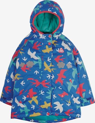 Frugi Coat in Blue
