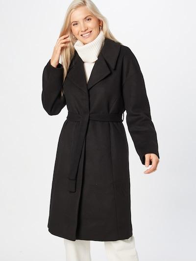 VILA Mantel 'Candice' en noir, Vue avec modèle