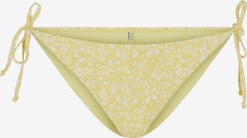 Pantaloncini per bikini 'Gaya' di PIECES in giallo